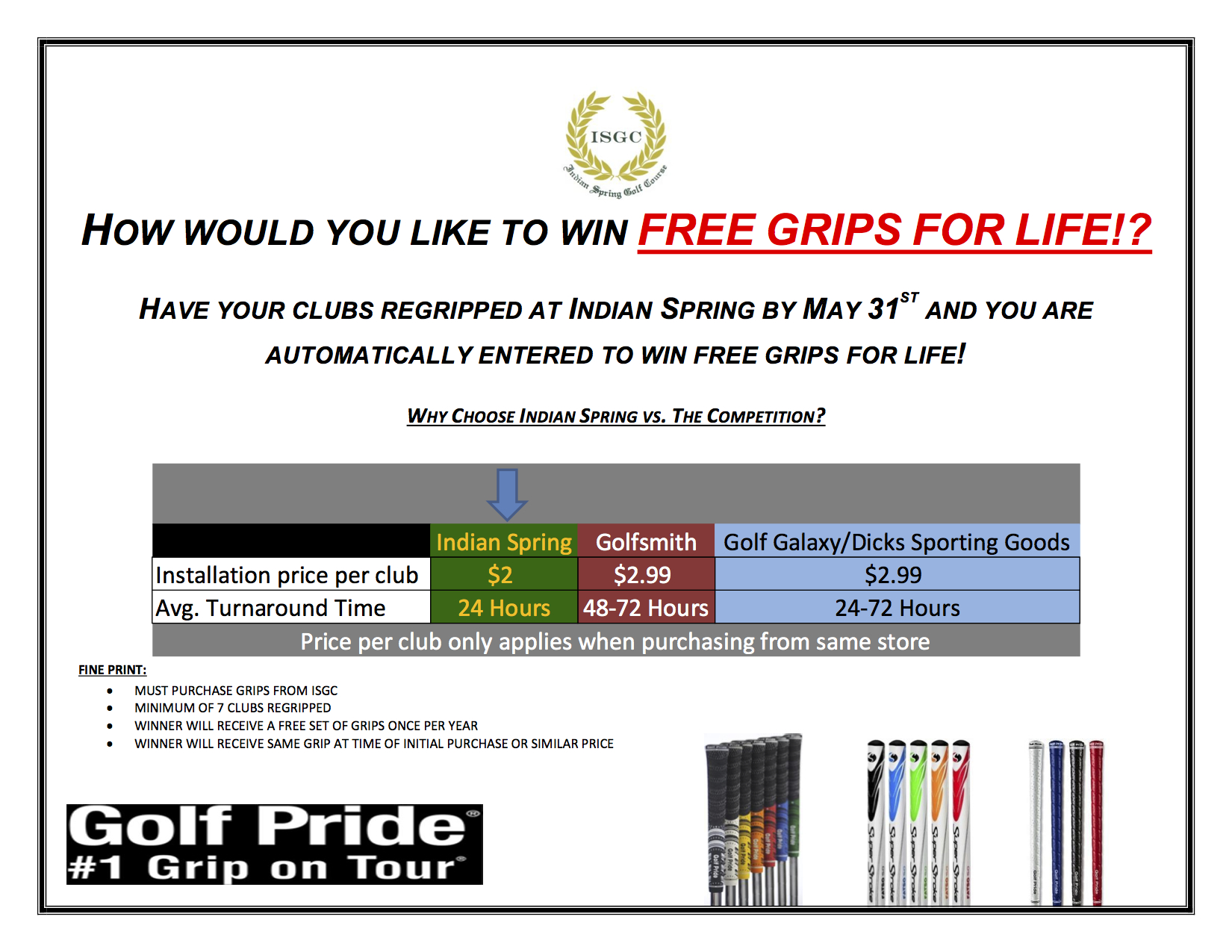 FREE Grips for Life